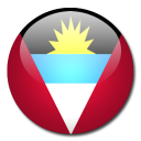 antigua, flag, country, barbuda, and icon
