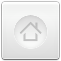 App, Drawer, Home, White icon