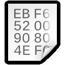 Hex, Text icon