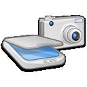&Amp, Camera, Scanner icon