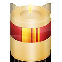 candle, christmas, light icon