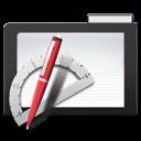 Apps, Dark, Folder icon