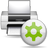 Kdeprint, Print, Printer, Queuestate icon