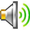 audio, volume, high icon