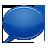 blue,speech,bubble icon