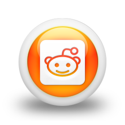 square, logo, reddit icon