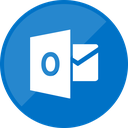 website, outlook, email, mail icon