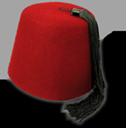 fez, hat icon