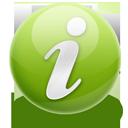 Green, Info icon