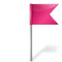 flag, dock, me, map, right, marker, pink, base, color icon