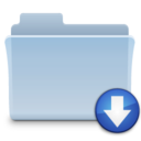 drop,folder,tiger icon