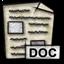 msword, mime, application, gnome icon