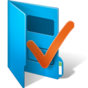 folder,checkmark icon