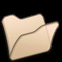 folder beige icon