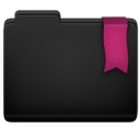 Pink, Ribbon icon