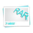 document, winrar, paper, file icon