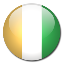 ivoire, cote, flag, country icon