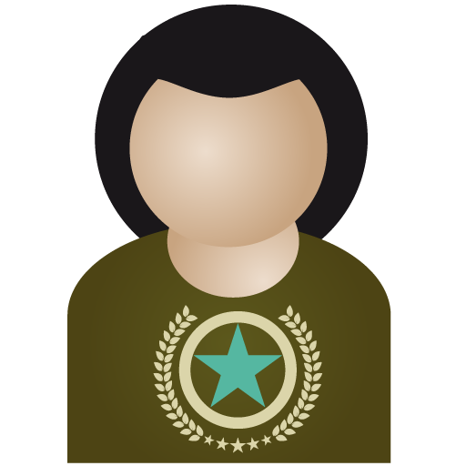 afro, member, favourite, man, profile, human, account, person, user, star, bookmark, people, male icon