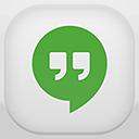 hangout, google icon