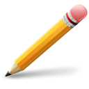 pencil, trash, pen, delete icon