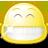 gnome, smile, face, big, 48 icon