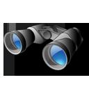 find, seek, binoculars, search icon