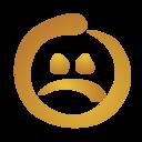 smiley,sad icon