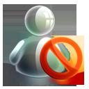 Blocked, Offline icon