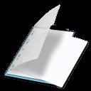 Documents bleu icon