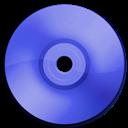 Blue, Cd, Dark, Dvd icon