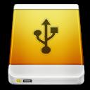usb, drive, device, external icon