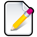 write, paper, document, writing, edit, file icon