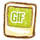 Gif, Natsu icon