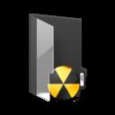 folder,burn icon