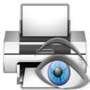 Actions document print preview icon