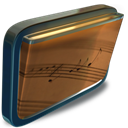 Folder, Music, My icon