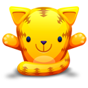 Cat, Orange icon