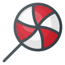 lollipop, candy icon