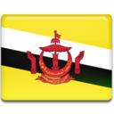 brunei,flag,country icon