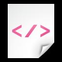 document, file, xml, text icon