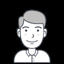 man, profile, avatar, male, user, person icon