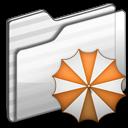 Backup Folder white icon