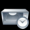 Clock, Oven icon