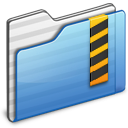 Folder, Security icon