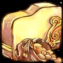 Folder, Gold icon