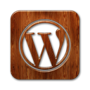 wordpress, square, logo icon