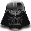 star wars, helmet, darth vader icon