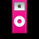 ipod,nano,pink icon