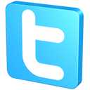 snap, blue, tack, twitter button, knob, pin, twitter icon