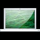 White Macbook Leopard icon